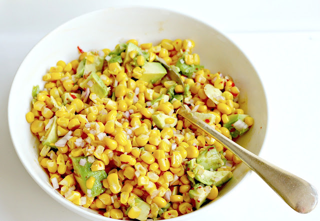 Milk and Honey: Corn and Avocado Salsa