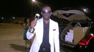 J Martins Recieves African Music Ambassador Award