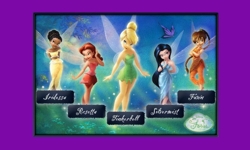 Nombre de las hadas de Disney - Imagui