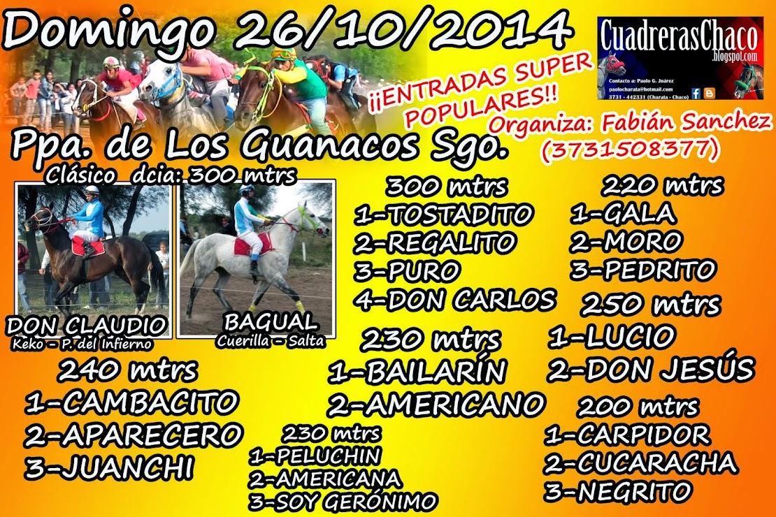 GUANACOS 26-10
