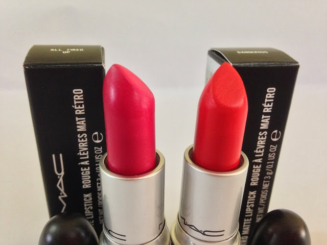 M.A.C Retro Matte Lipstick ~ All Fired Up & Dangerous