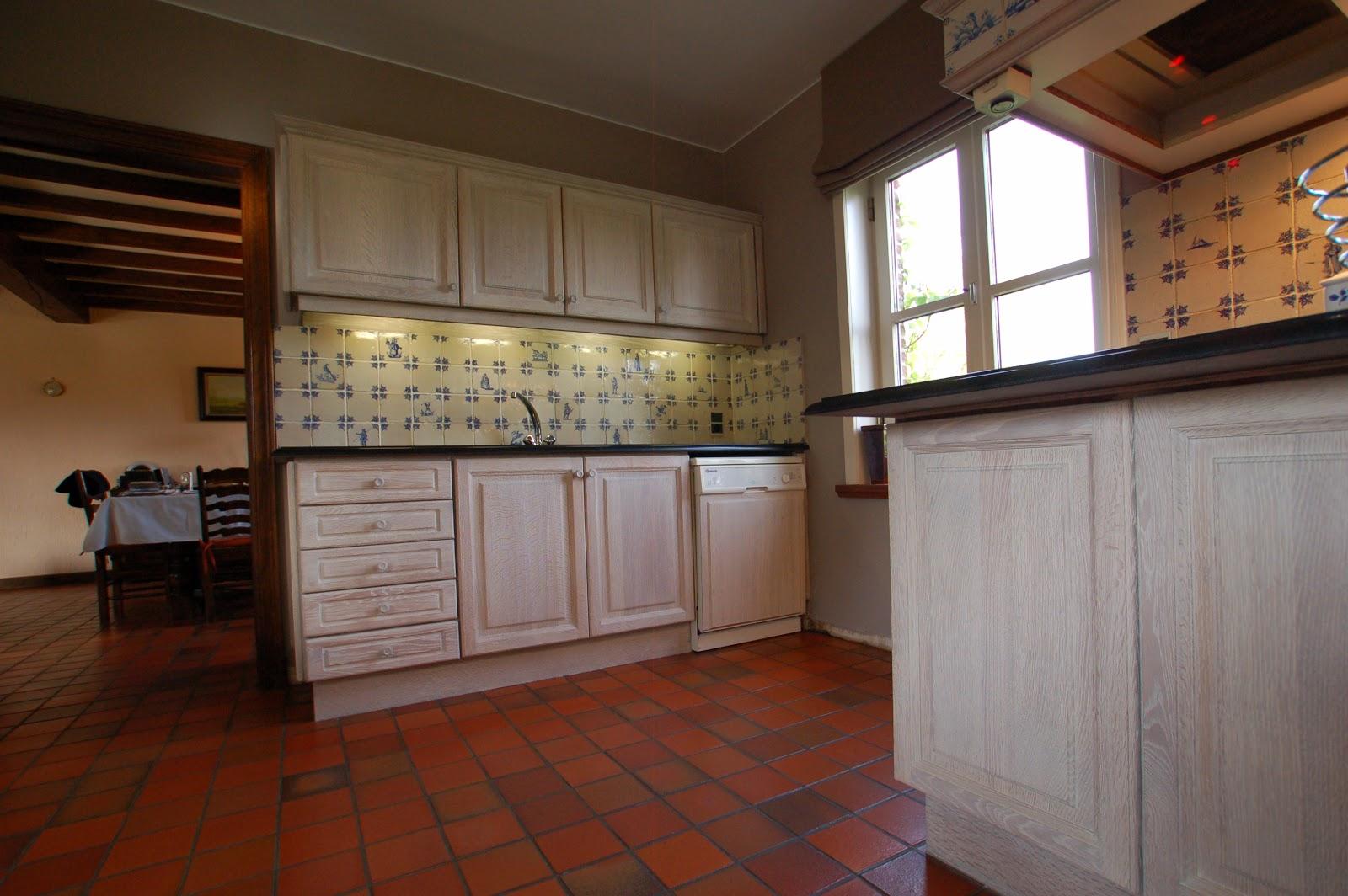 Eiken Keuken Grijs : Renovatie eiken keuken Brakel Renovatie van eiken keukens