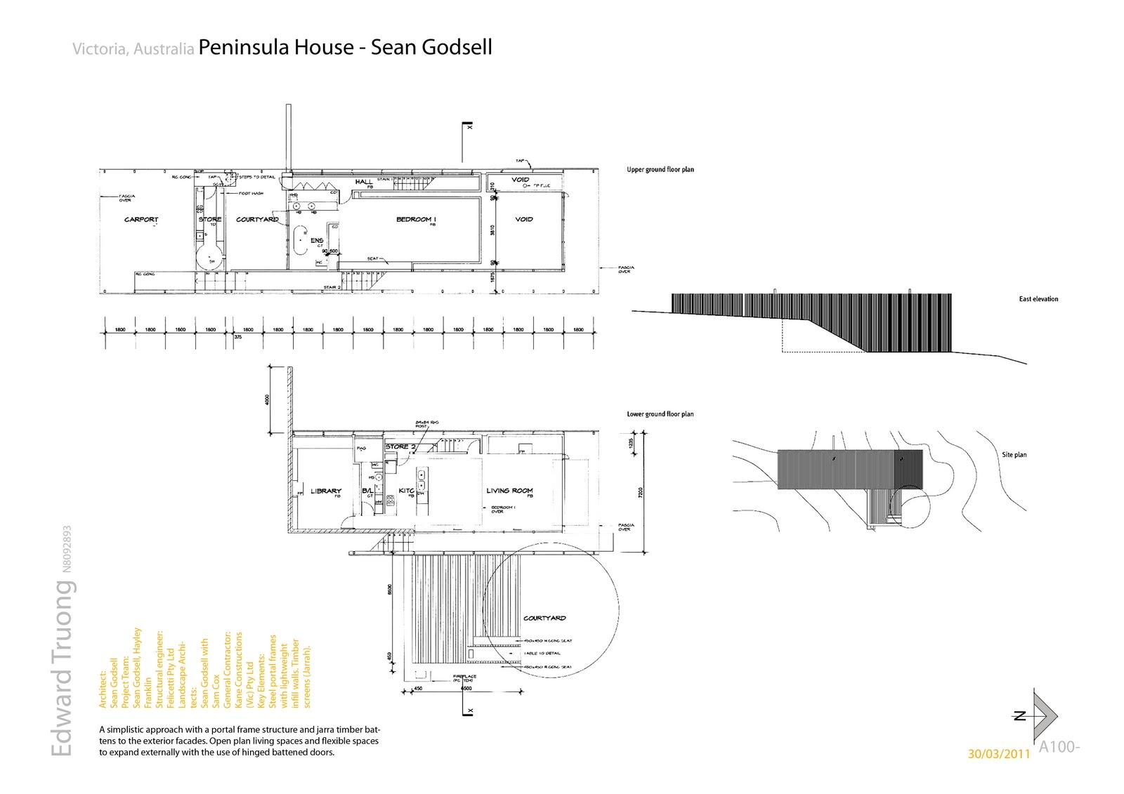 Qut Architecture De40 Project 1a Brief Analysis Of 3