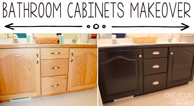 grandma honey bathroom cabinets before and after - Bathroom Cabinets Before And After