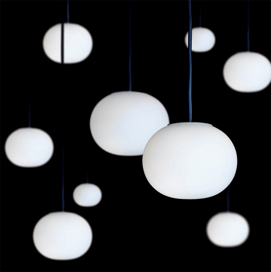glo ball lights from flos. Black Bedroom Furniture Sets. Home Design Ideas