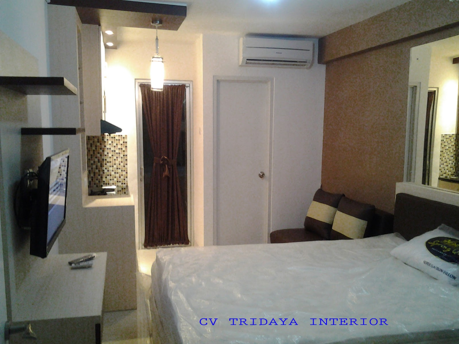 CV TRIDAYA INTERIOR INTERIOR APARTEMEN STUDIO