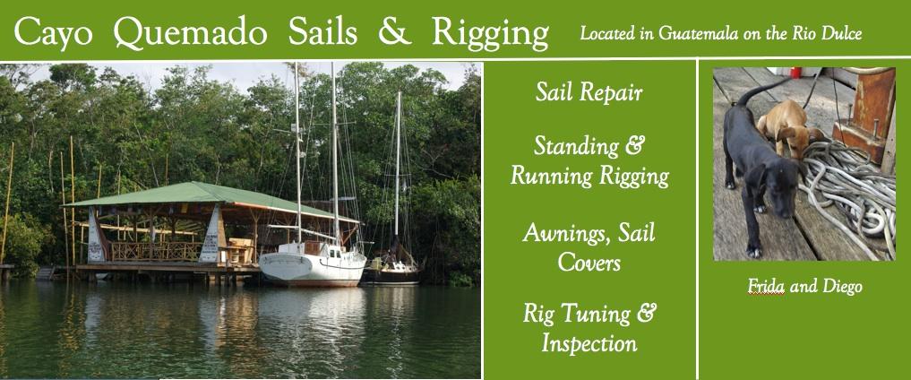 Cayo Quemado Sails & Rigging
