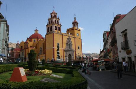 Guanajuato, Plaza de la Paz