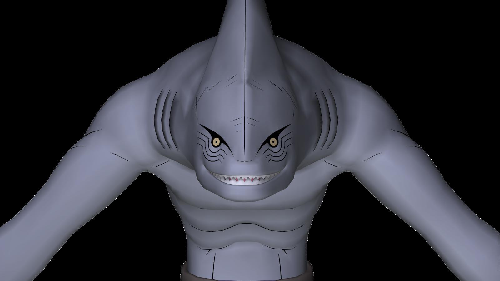 Kisame Hoshigaki Shark Form 21319 | ZSOURCE