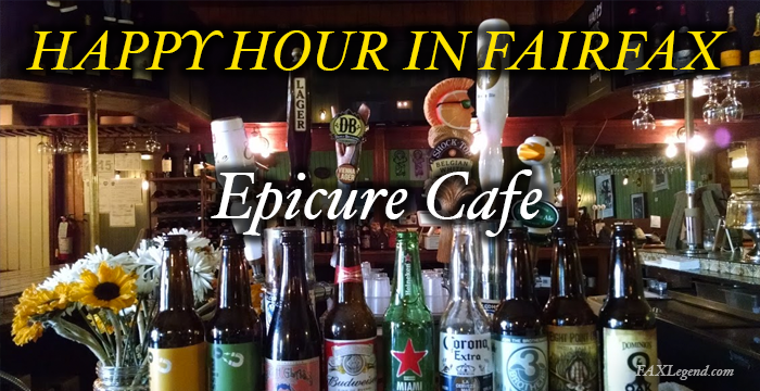 Exploring Happy Hour Epicure Cafe Fairfax Waples Mill
