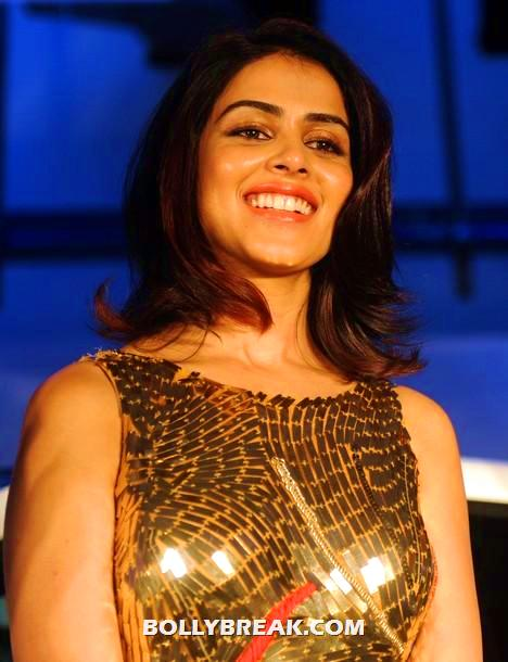  Genelia D&#39;Souza in Golden Dress  -  Genelia D&#39;Souza in Golden Dress - Latest Photos