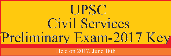 Civil Service Exam Paper & Key