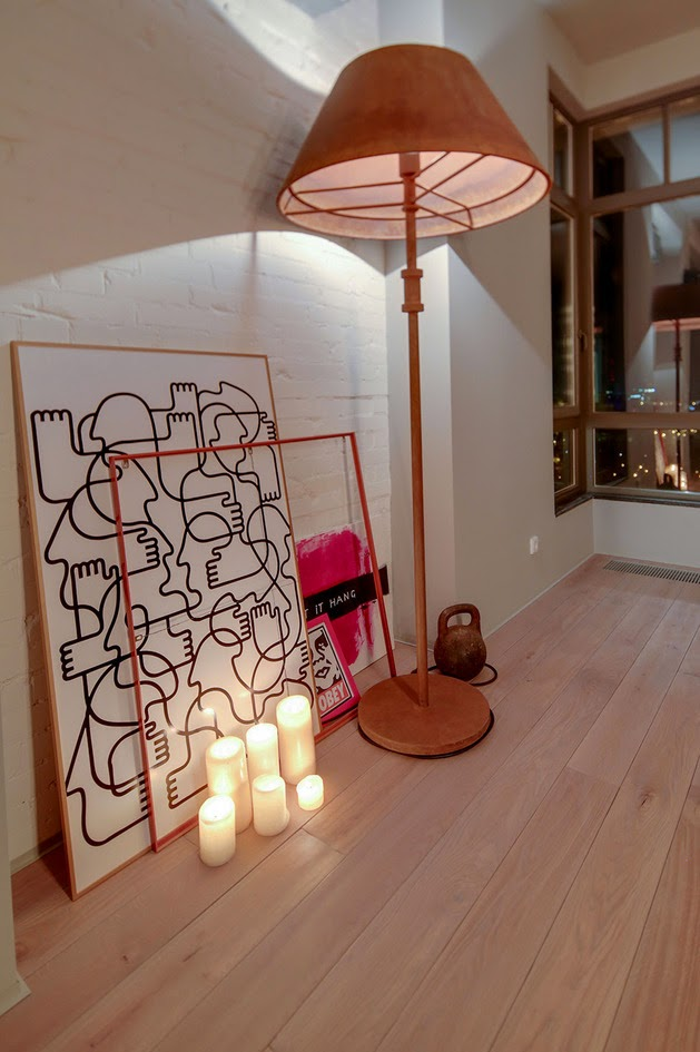 komposisi dan dekorasi interior rumah minimalis