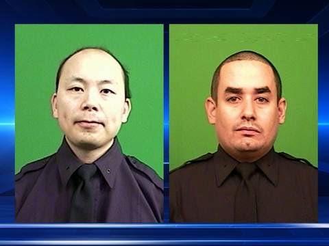New York Cops Shot Dead In Ambush   cops shot dead