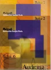 Auditing Buku 1 dan 2 Edisi 6 Karangan Mulyadi