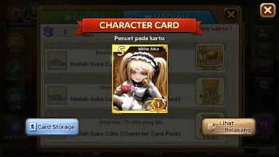 Bukti Trik Cara Mendapatkan Kartu White Alice S Get Rich Terbaru