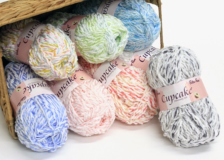 Cupcake yarn by Peter Pan