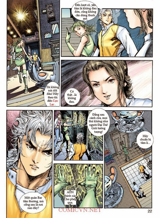 Thần Binh Khoa Huyễn Ký chap 2 - Trang 22