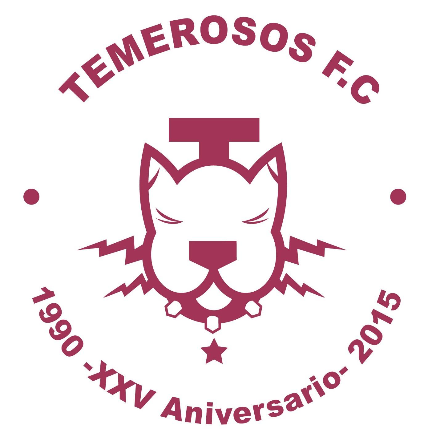 TEMEROSOS FC - 25 AÑOS