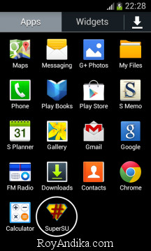 Cara mudah root Samsung Galaxy Tab 3 8.0 SM-T311 Kitkat 4.4.2border=