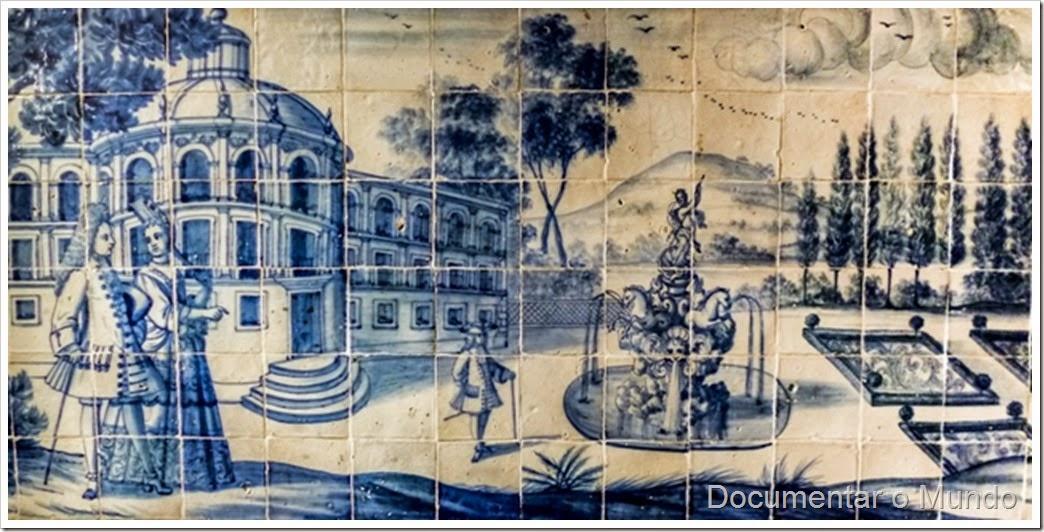 Salão Nobre; Palácio dos Marqueses de Minas; Azulejos Portugueses