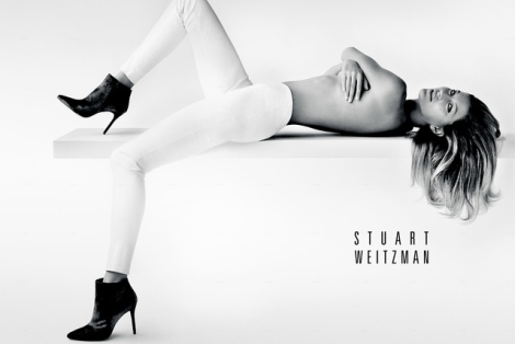 Gisele by Mario Testino for Stuart Weitzman