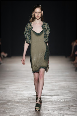 Maurizio Pecoraro - Spring Summer 2013 Fashion Show - sequin dress