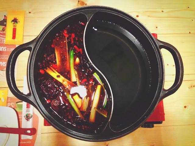 Soup at Mara Shabu at Pasarbella Grandstand