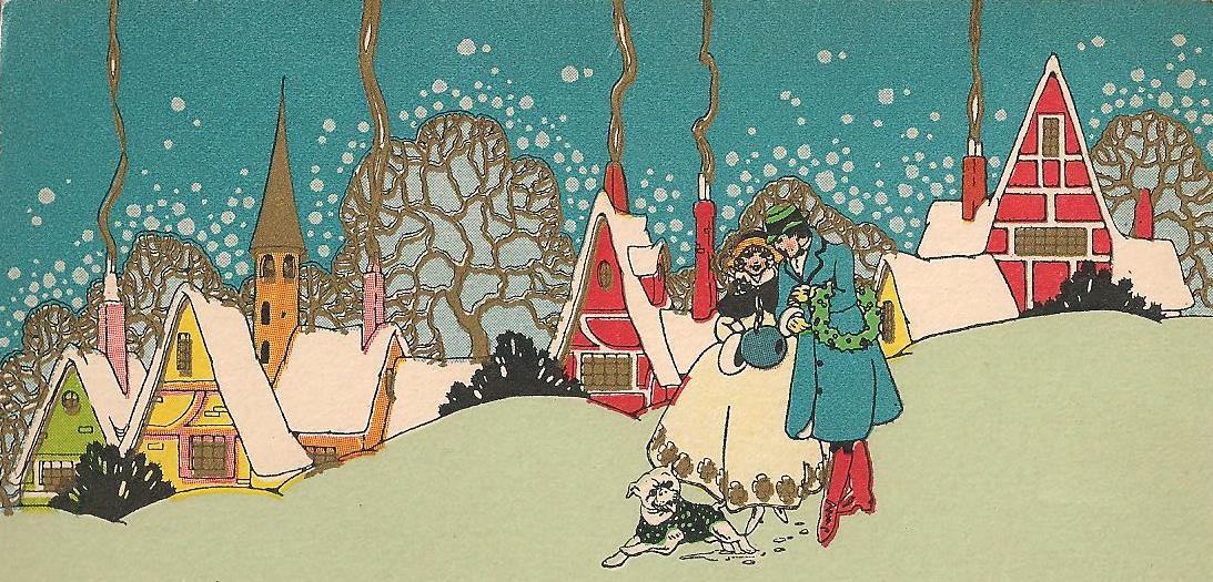 Graphics For Art Nouveau Christmas Graphics | www.graphicsbuzz.com