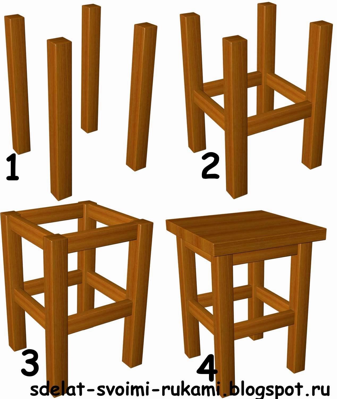 Делаем стульчик своими руками