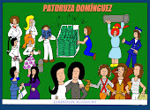LAS AVENTURAS DE PATORUZA DOMINGUEZ: LA BANDA DE AGUILUCHA, por MANUELA LOMBARDO