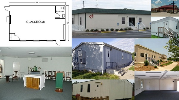Modular Classroom Rental ~ Modular building portable classroom office trailer