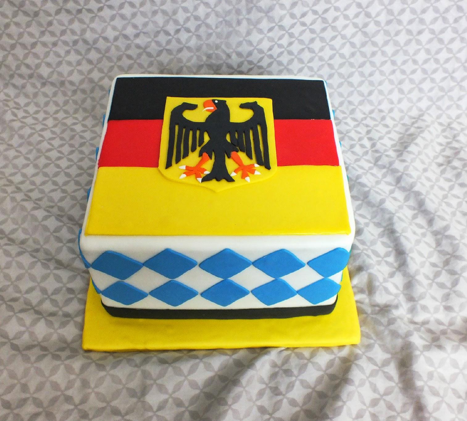 Sweet Bottom Cakes Deutschland Birthday Cake