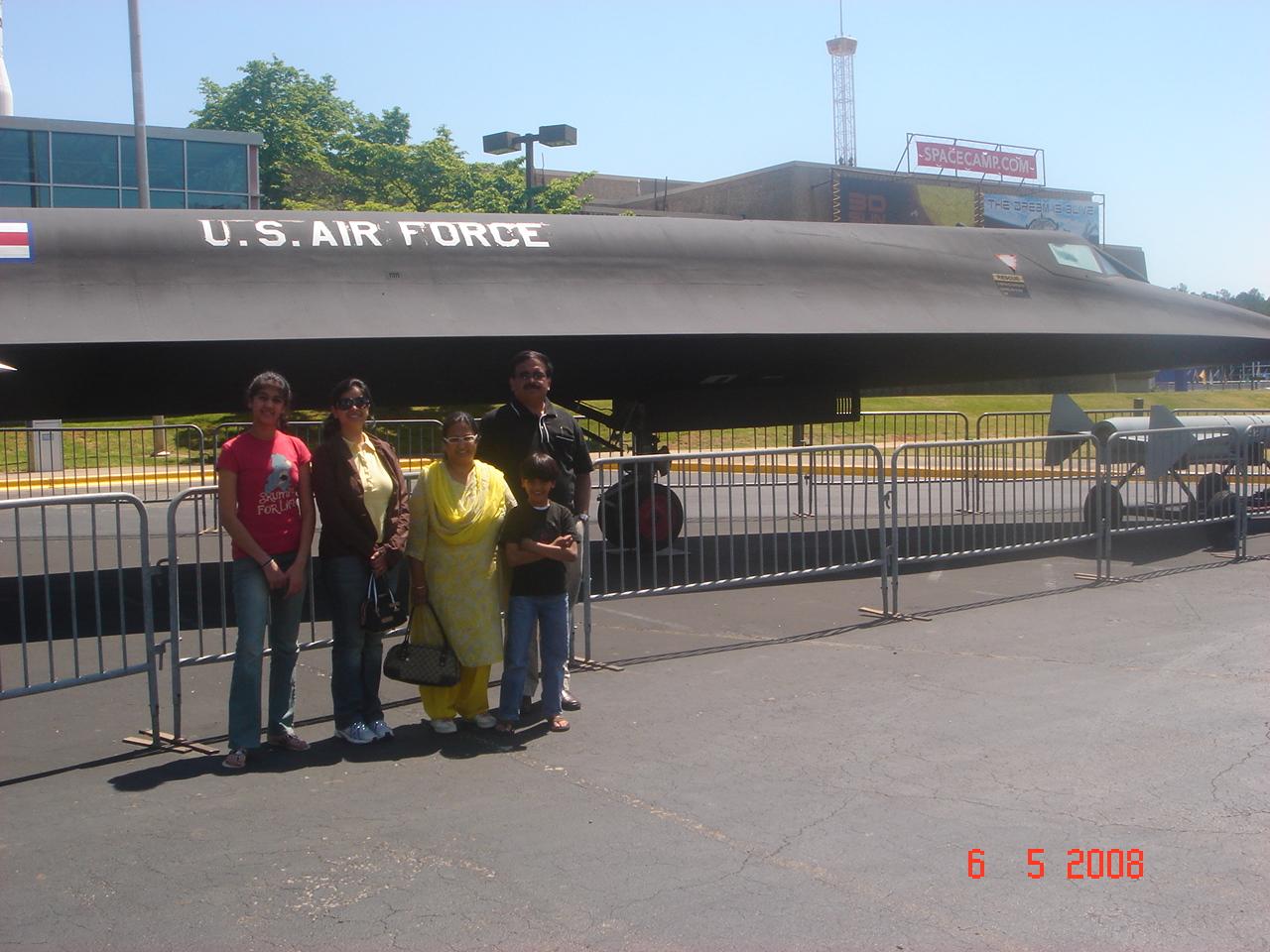 SR71 at Huntsville,USA
