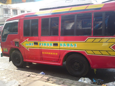 The Famous Mini Bus - Sipirok Nauli Express
