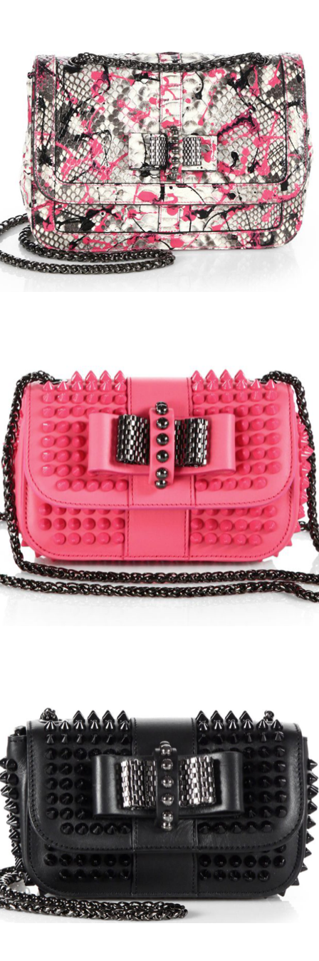 Christian Louboutin Sweet Charity Shoulder Bags