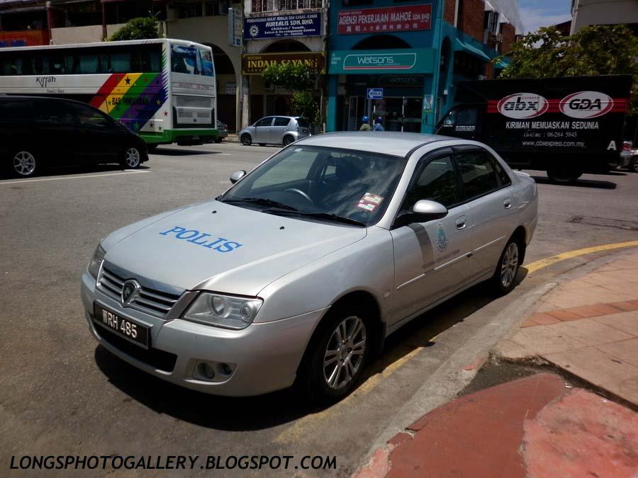 Proton Waja CPS Police Car
