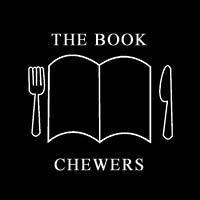 The Book Chewers image I made into a button because I couldn't see one on their website!