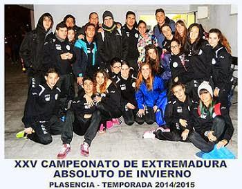 Cto. de Extremadura Absoluto de Invierno.