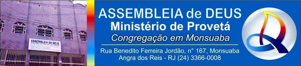 A.D. Ministério Provetá - Monsuaba