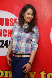 Nisha Kothari in Jeans at Hrudaya Spandana Walk Logo Launch