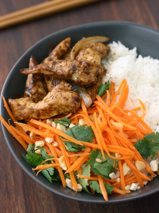 Stir Fried Lemongrass Ginger Chicken Season With Spice