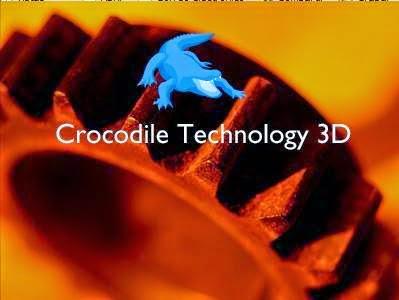 Crocodile Technology 3D 609 Portable