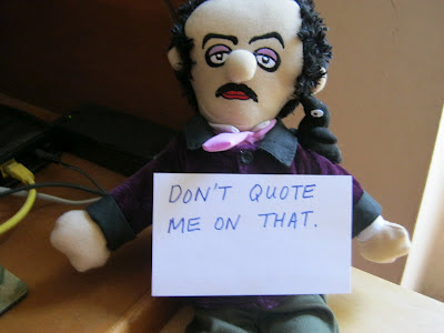 Fake Edgar Allan Poe quotes the internet is full of gibberish