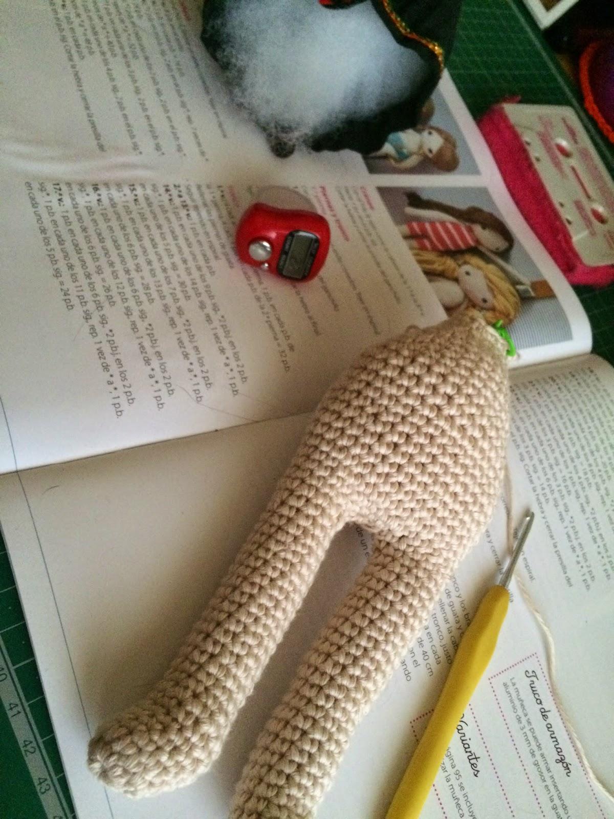 Si mi abuela me viera: Mi muñeca de ganchillo: Poupinette