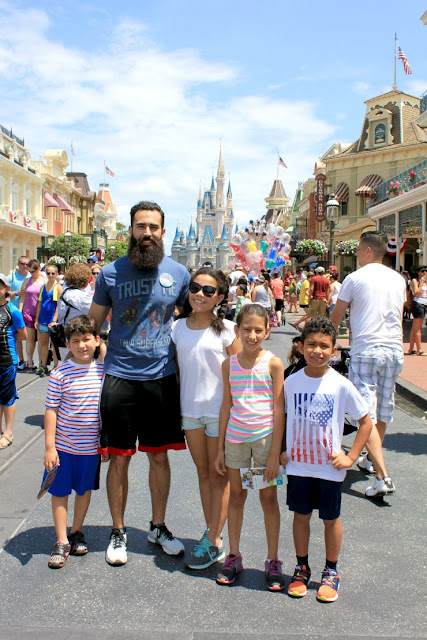 A Day of Fun At Magic Kingdom