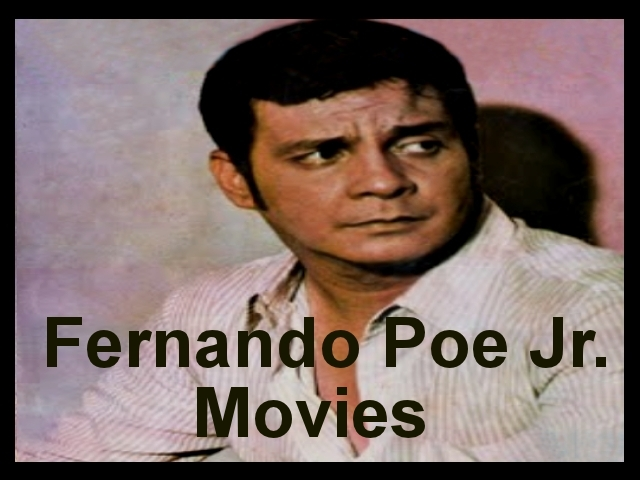 Fernando Poe Jr Movies