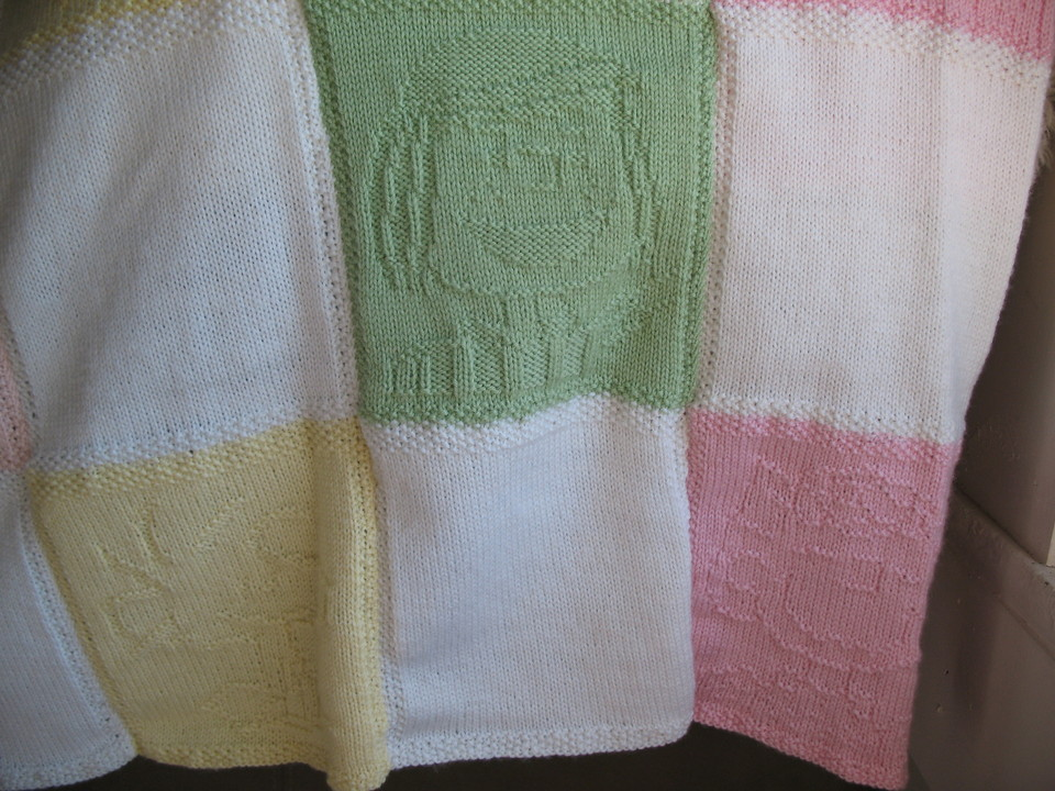 My Knitting Life And Other Stories: Snoopy Baby Blanket