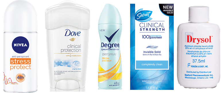 best deodorant for women who sweat a lot