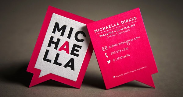 70) Business Card